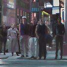 Streetcorner, Evening by dbclemons