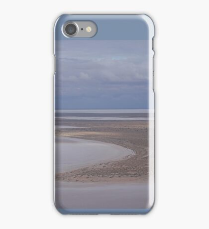 Beaut Beach at Lovely Lake Eyre iPhone Case/Skin