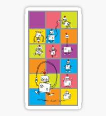 Robots! Sticker