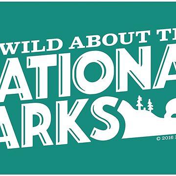 Soy salvaje para los parques nacionales: Black Bear de BlueAsterStudio
