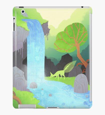 Lehti at the waterfall iPad Case/Skin
