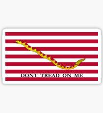 Navy Jack Flag Sticker