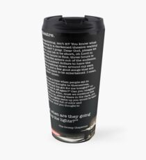 I Hate Theatre Monologue  Travel Mug