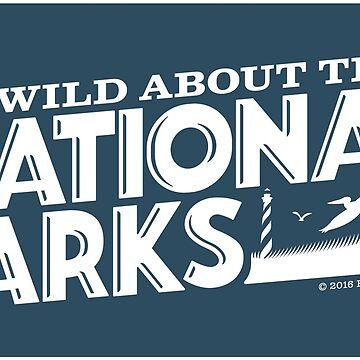 Soy salvaje para los parques nacionales: Sea Birds de BlueAsterStudio