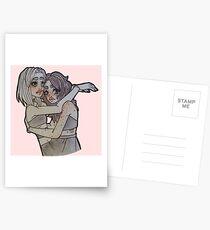 Ich liebe dich bis zum Mond Postkarten