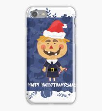Happy Hallothanksmas! iPhone Case/Skin