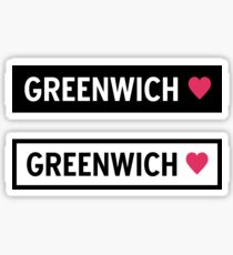 Greenwich Sticker
