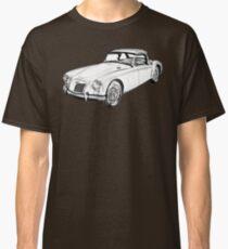 MG Convertible Sports Car Illustration Classic T-Shirt