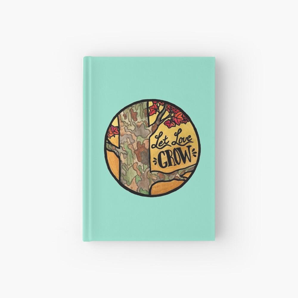Lass Liebe wachsen Notizbuch