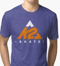 k2 skate apparel Tri-blend T-Shirt
