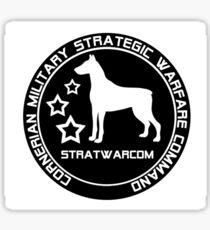 Strategic Warfare Command - STRATWARCOM Sticker