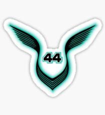Lewis Hamilton Symbol 1A Sticker