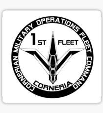 Cornerian 1st Fleet Sticker
