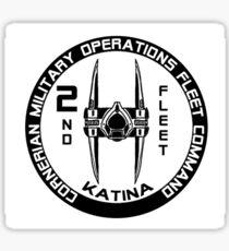 Cornerian 2nd Fleet Sticker