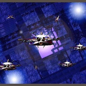 spaceships 4 by RobertLuxford
