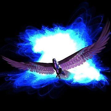 Blue Eagle by RobertLuxford
