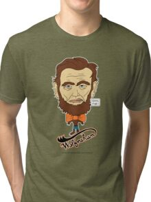 Wolfraham Lincoln Tri-blend T-Shirt