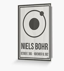 Niels Bohr Greeting Card