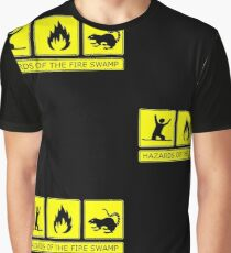 Hazards of the Fire Swamp Graphic T-Shirt