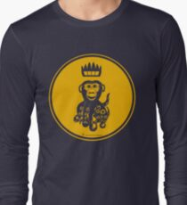 Octochimp - single colour Long Sleeve T-Shirt