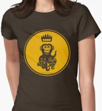 Octochimp - single colour Women's Fitted T-Shirt