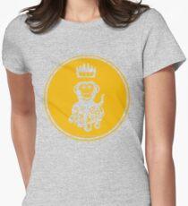 Octochimp - single colour Women's Fitted T-Shirt