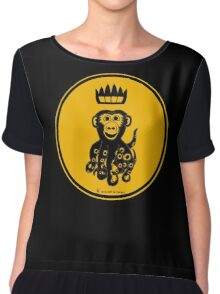 Octochimp - single colour Women's Chiffon Top