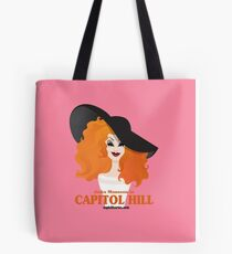 Jinkx Monsoon in Capitol Hill by Kevin Harris Tote Bag