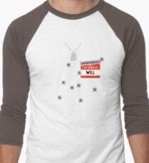 Fire at Will ! Men's Baseball ¾ T-Shirt