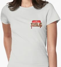 The Carpenter - warning : content is in bad taste Women's Fitted T-Shirt