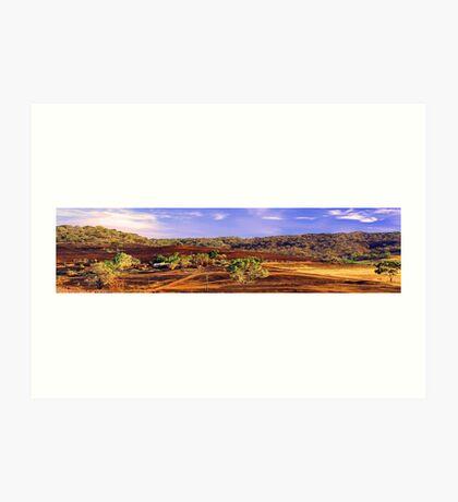 Toodyay - Western Australia  Art Print