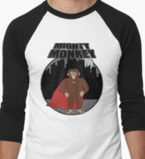 Mighty Monkey Men's Baseball ¾ T-Shirt