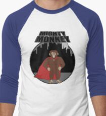 Mighty Monkey Men's Baseball ¾ T-Shirt