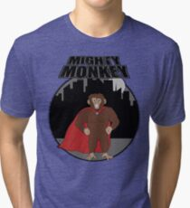 Mighty Monkey Tri-blend T-Shirt