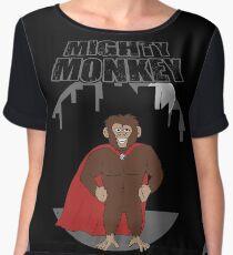 Mighty Monkey Chiffon Top