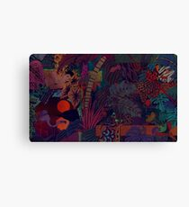 The Zaba Jungle Canvas Print