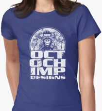 Octochimp Designs Womens Fitted T-Shirt