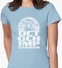Octochimp Designs Womens Fitted T-Shirt