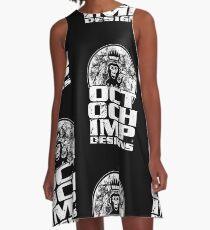 Octochimp Designs A-Line Dress
