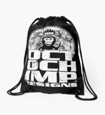 Octochimp Designs Drawstring Bag