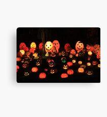 """Pumpkin Glow"" Canvas Print"