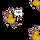 ♥ Rubber Ducky ♥ -girly by Octochimp Designs