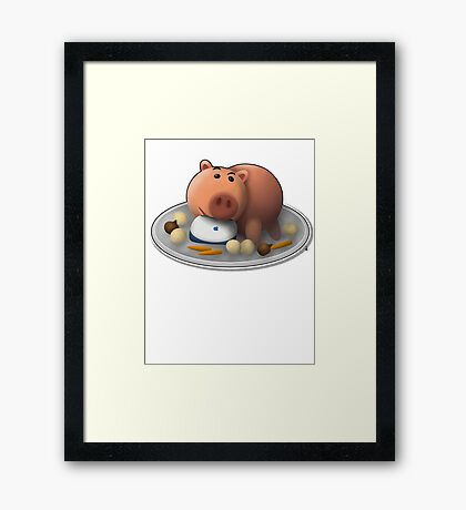 You're doing it wrong ! Framed Print