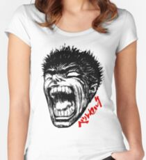 Head of Anime Women's Fitted Scoop T-Shirt