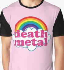 Todesmetall-Regenbogen (Original) Grafik T-Shirt