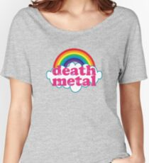 Death Metal Rainbow (Original) Women's Relaxed Fit T-Shirt