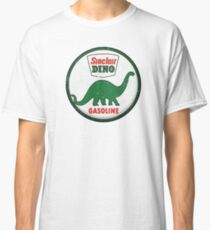 Sinclair Dino Gasoline vintage sign distressed Classic T-Shirt