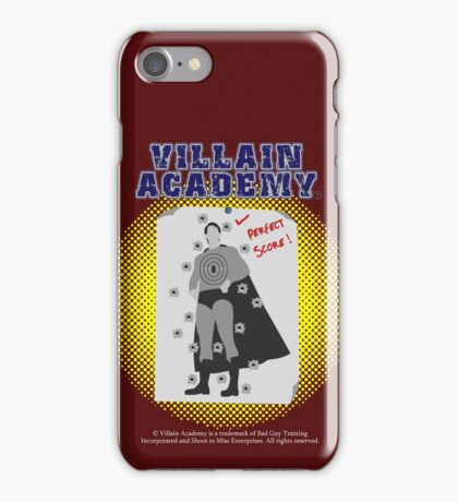 Villain Academy iPhone Case/Skin