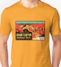 Grand Canyon Arizona National Park Vintage Travel Decal T-Shirt