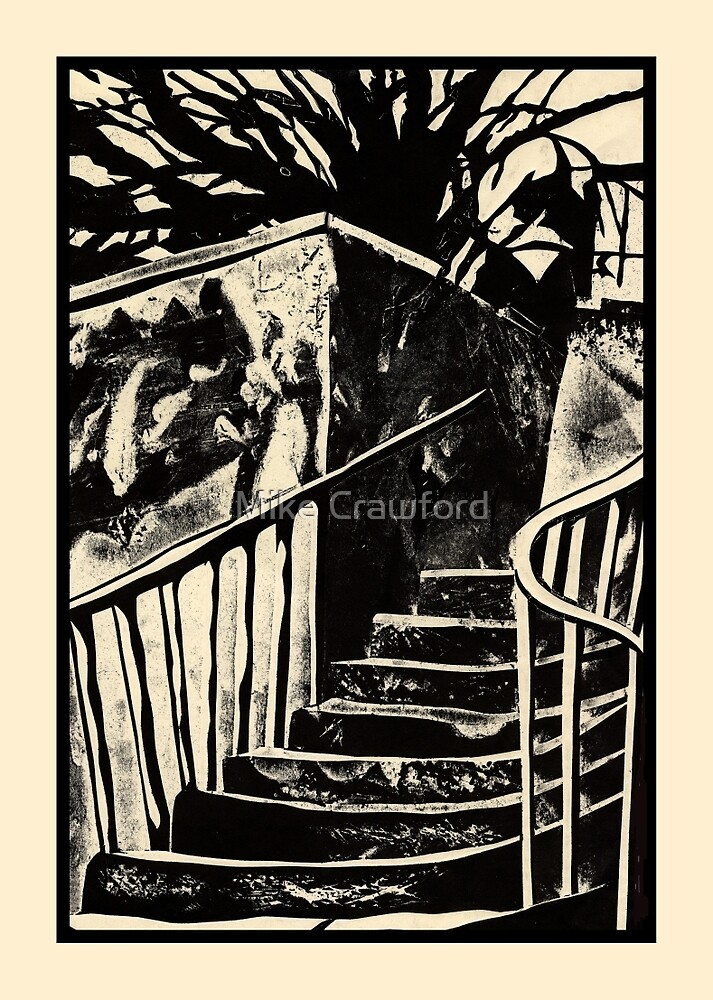 The Old Steps by Mike Crawford